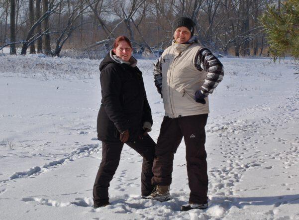 Bild von Alexandra und Kerstin